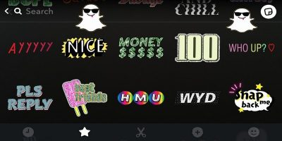 Easily Create and Use All Kinds of Stickers in Snapchat