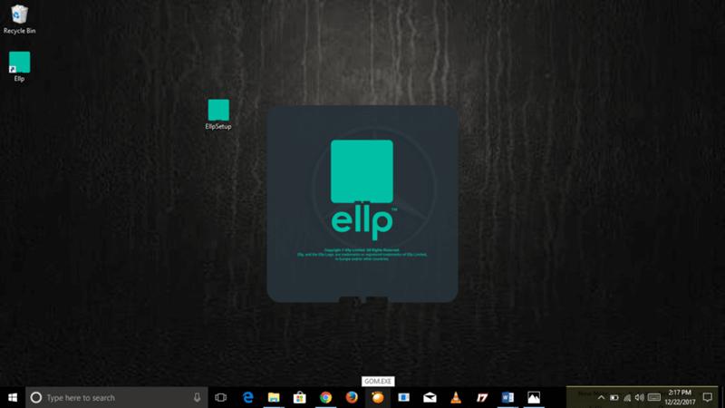 Windows-Desktop-with-Ellp-Setup