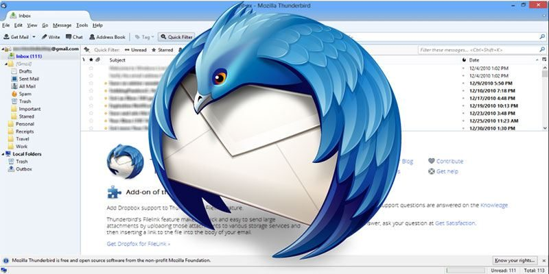 12 Thunderbird Addons You Shouldn't Be Without - Make Tech