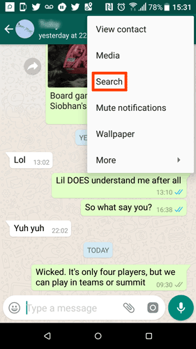 How to Search Your WhatsApp Chat History [Quick Tips] - Make