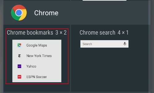 How To Add Chrome Webpages and Bookmarks To Android Home Screen