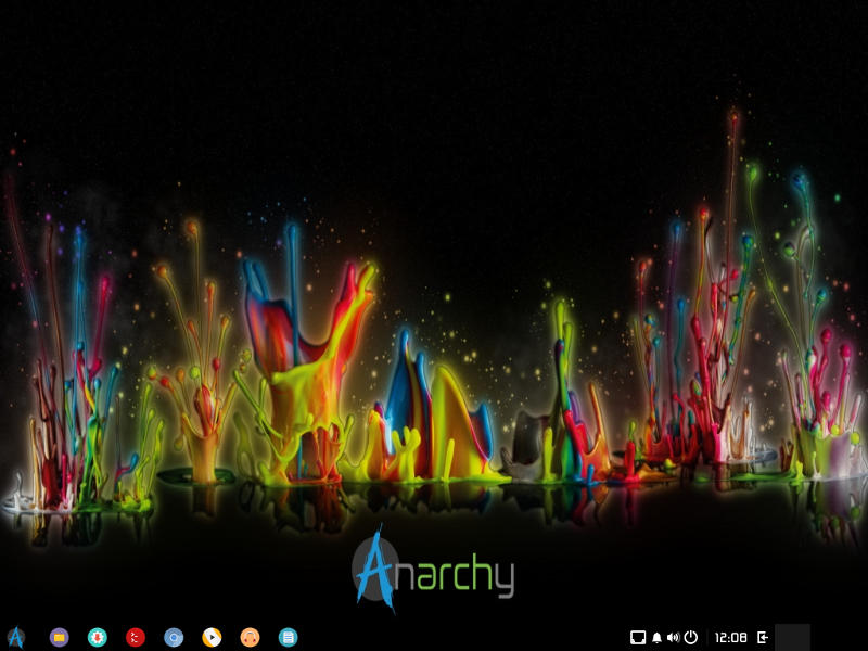 Anarchy Budgie Desktop