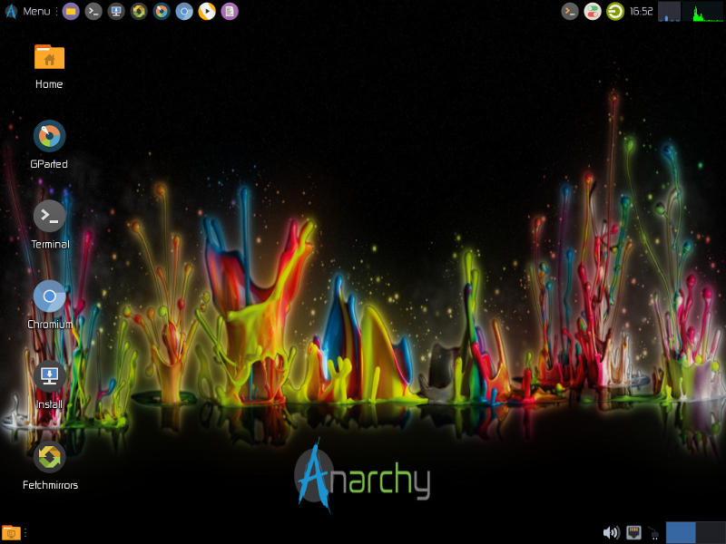 Anarchy Live Desktop
