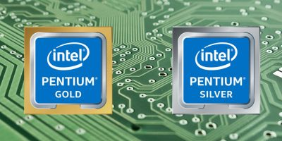 Intel Pentium Gold and Silver
