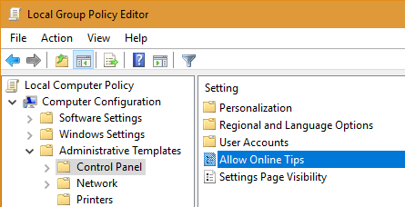 remove-tips-from-settings-app-win10-open-policy
