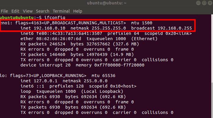 set-static-ip-in-ubuntu-ifconfig