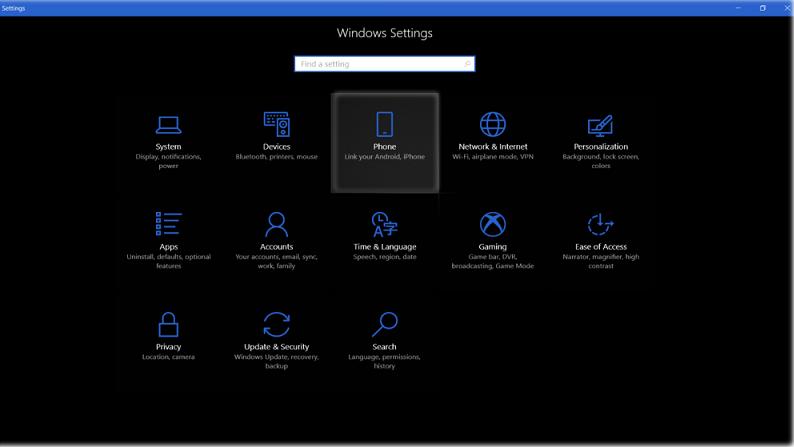 windows-settings-phone