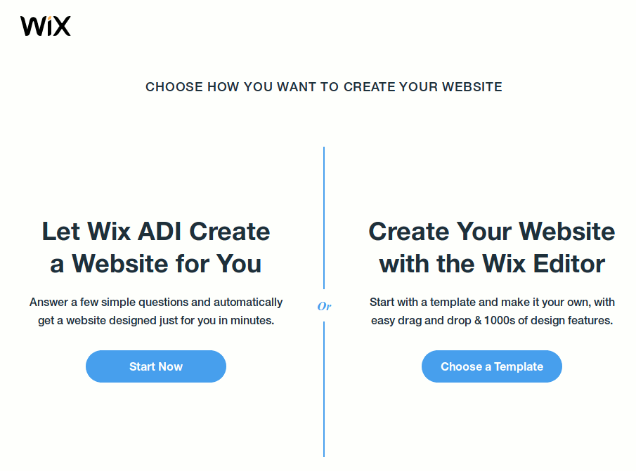 wix-create-website