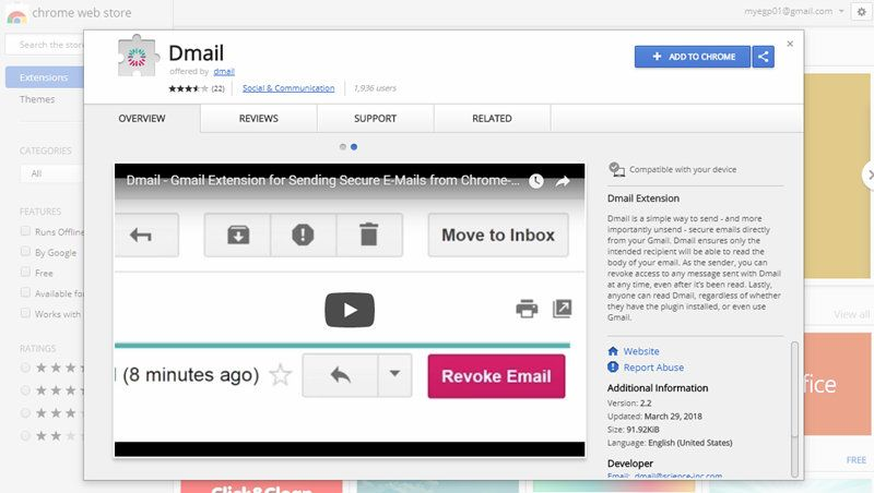 how to put read receipt on personal gmail