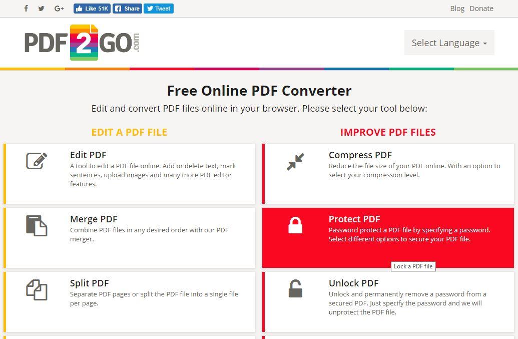 pdf2go_site_homepage