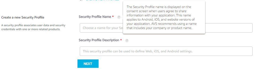 raspberrypi-echo-security-profile-name