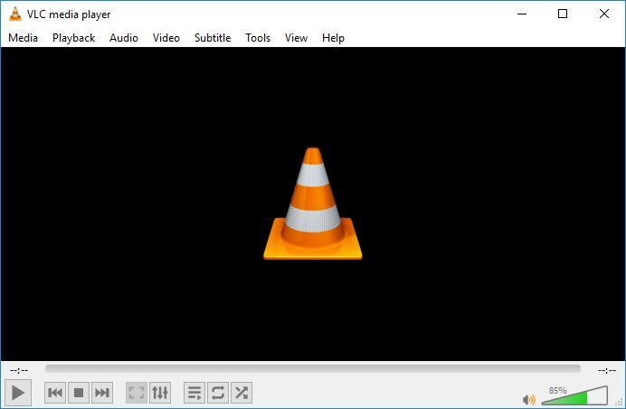 vlcchromecast_main_screen