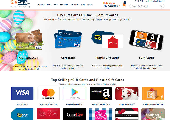 5 Places to Easily Get Gift Cards Online - Make Tech Easier