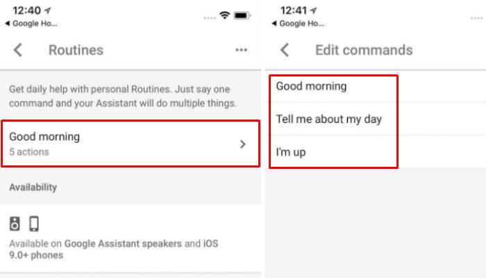 google-routines-changephrase