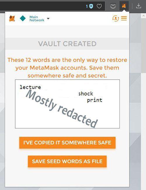 metamask-seed