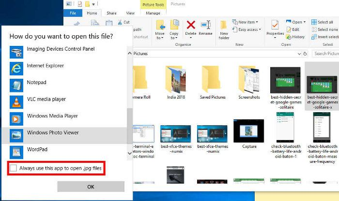 How to Set Windows Photo Viewer as Default in Windows 10 - Make Tech