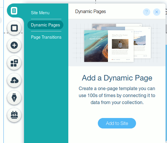 wix-code-add-dynamic-page