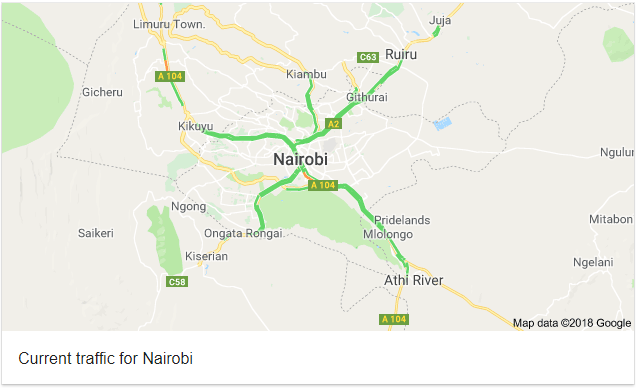 google-maps-traffic-nairobi
