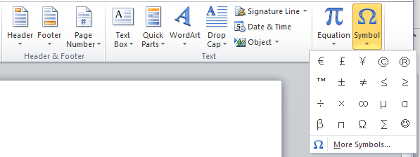 3 Ways To Insert The Degree Symbol In Ms Word Make Tech Easier