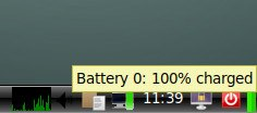 LXDE Battery Monitor