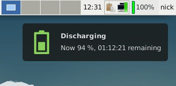 Battery Monitor Discharging