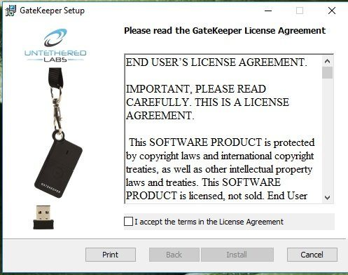 gatekeeper-software-installation