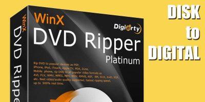 WinX DVD Ripper Platinum – Rapidly Convert Discs to Digital