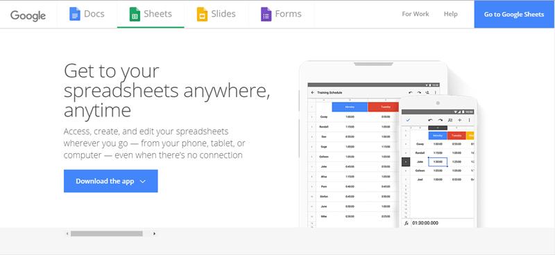 best-excel-alternative-google-sheets