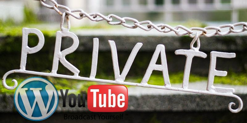 Как встроить видео YouTube в WordPress в расширенном режиме конфиденциальности