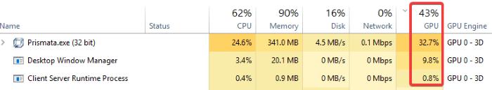 gpu-usage-percentages