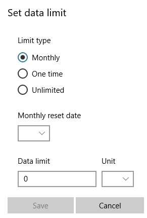 windows-data-limit-options