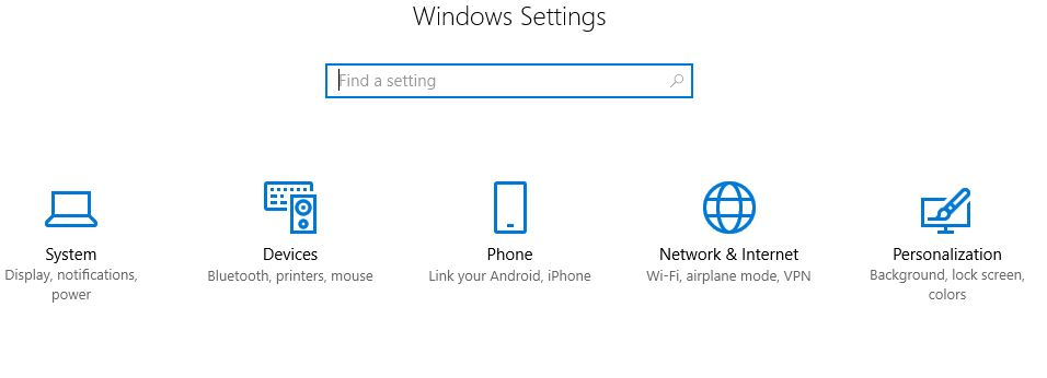 android-windows-settings