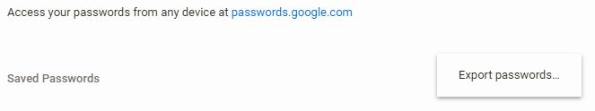 chrome-passwords-export-all