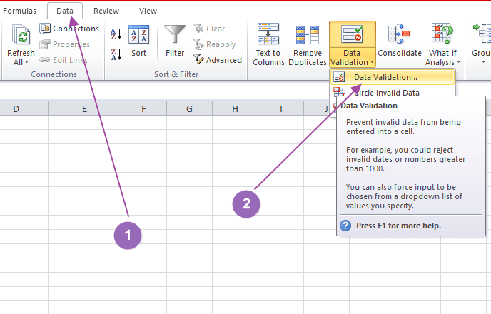 How to Create a Dropdown List in Microsoft Excel - Make Tech Easier