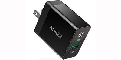 Get the Fastest Possible Charge with Quick Charge 3.0 Anker 18W USB Wall Charger at 25% Off