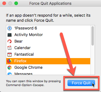How to Force Quit an Application in OS X - Make Tech Easier
