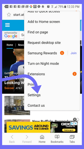 samsung-browser-settings