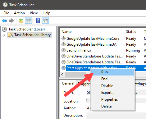 How to Start Scheduled Tasks with Delay on Windows - Make