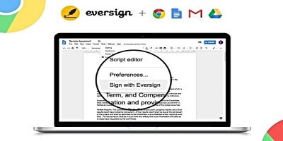 Eversign: The Convenient Way to Sign Documents in Chrome