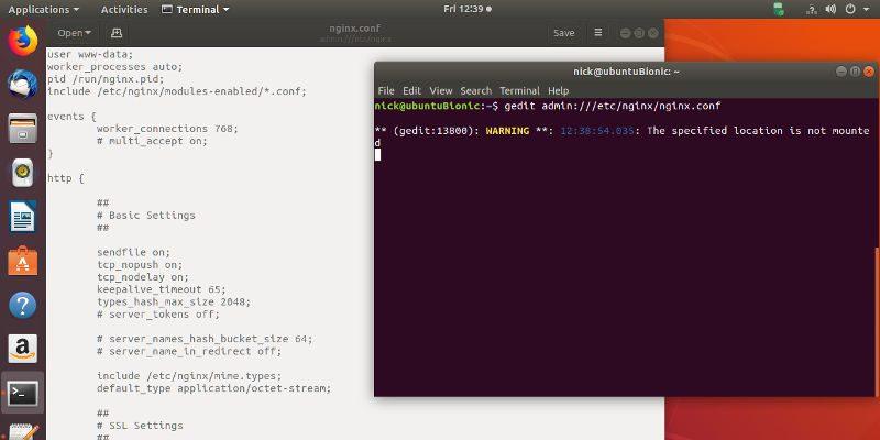 Replace gksu Ubuntu