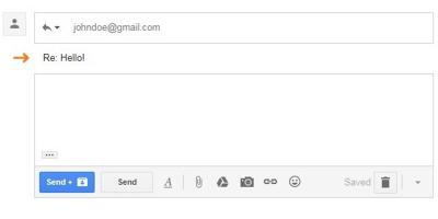 ShowSubjectGmail