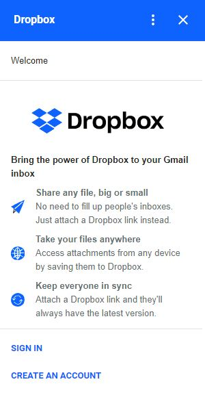 gmail-dropbox-first-time
