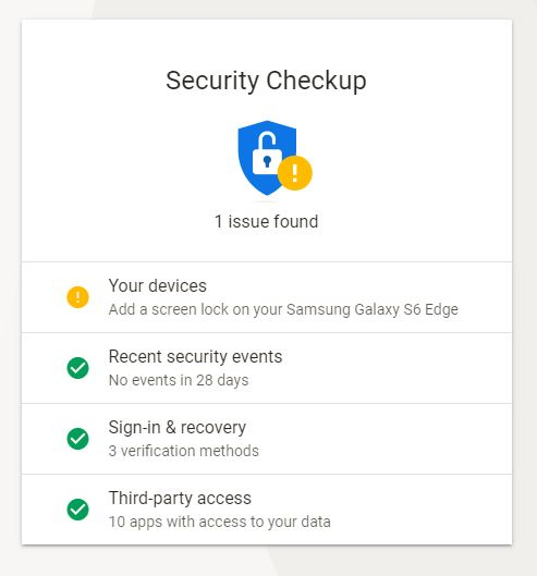 google-security-tool-home-page