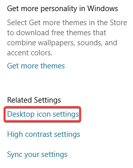 missing-bin-icon-settings