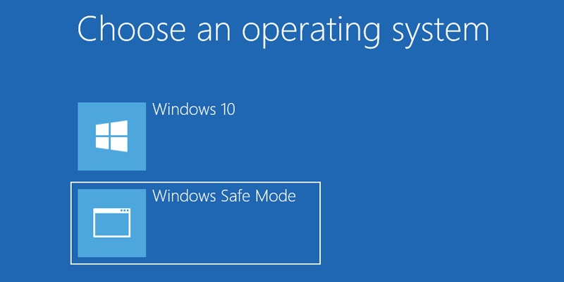 How to Add Safe Boot to Boot Options in Windows 10