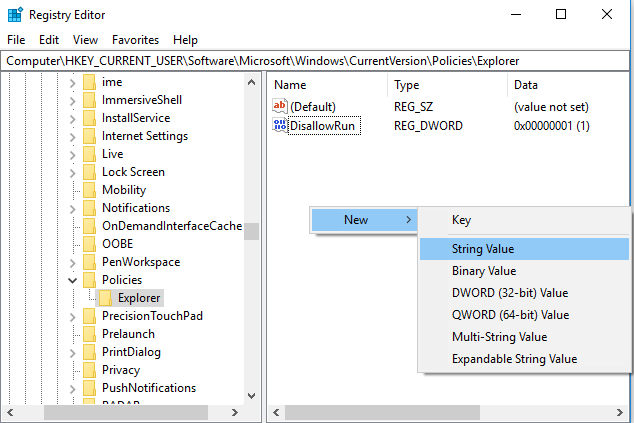 block-applications-windows-10-new-string-value