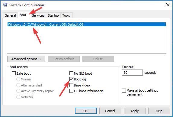 enable-boot-log-win-select-boot-log