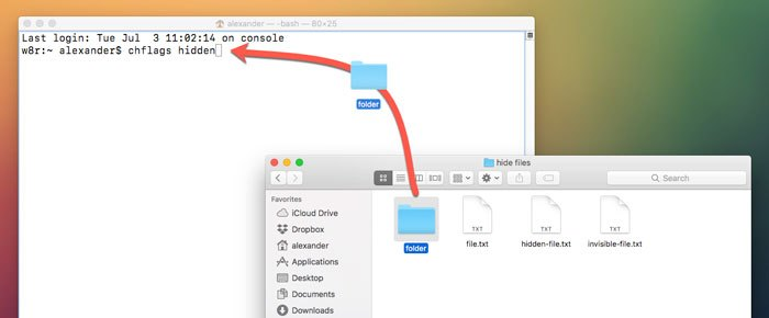 how to find hidden folder in mac