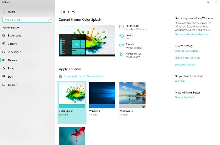 how-to-install-windows-10-themes-color-splash