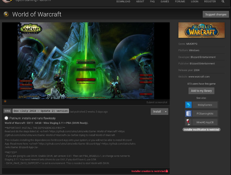 How to Install and Play World of Warcraft on Ubuntu - Make Tech Easier